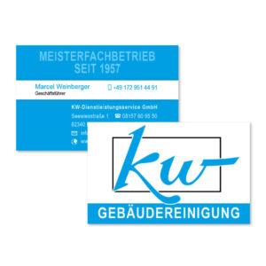 KW-Dienstleistungen Visitenkarte