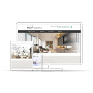 Raumperspektive Website